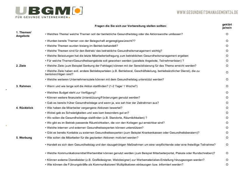 thumbnail of UBGM-Checkliste-Gesundheitstag