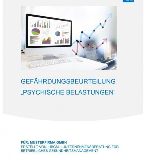 thumbnail of gefhrdungsbeurteilung psychische belastung muster ubgm - Gefahrdungsbeurteilung Psychische Belastung Muster