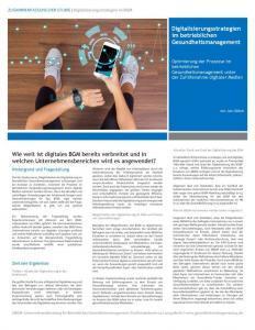 thumbnail of Digitales BGM-Digitaliserung im betrieblichen Gesundheitsmanagement-Fazit