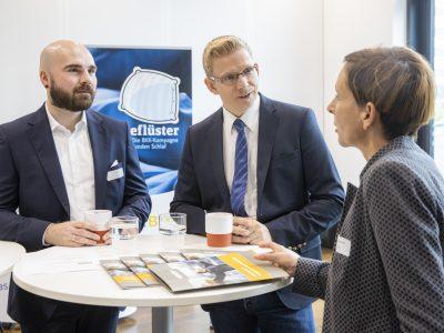 Stefan Buchner und Jan Götze auf der BGM-Fachtagung