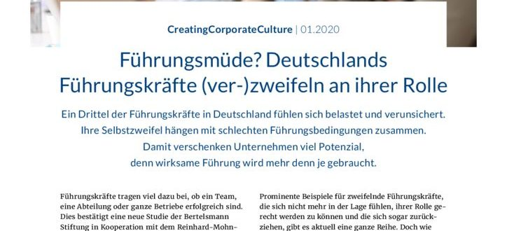 thumbnail of Fuehrungskraefte-Radar-2020-Bertelsmann-Stiftung